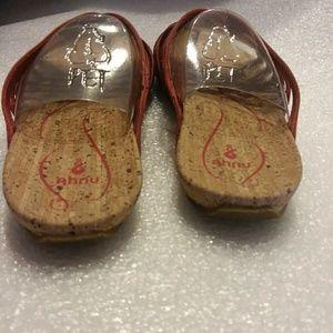 Ahnu Shoes - Ahnu Maia Thong Sandal Red Stone Size 7
